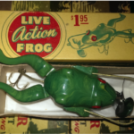 Boxed Frog Lure